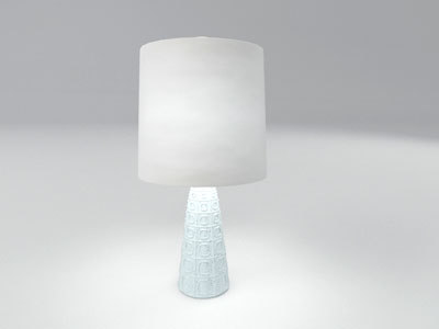 3d model adler table lamp