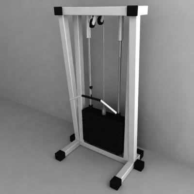 gym machine 3ds