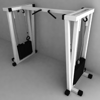 3d model machine gym