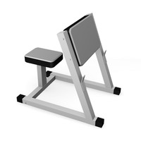 3d gym machine model