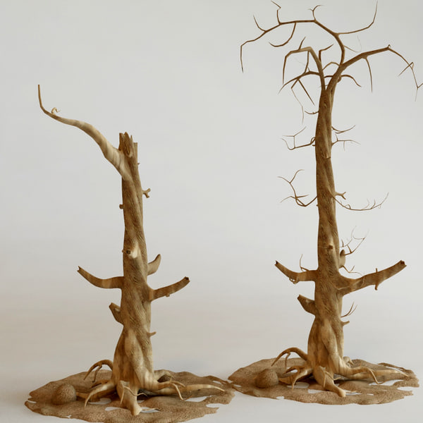 old trees obj