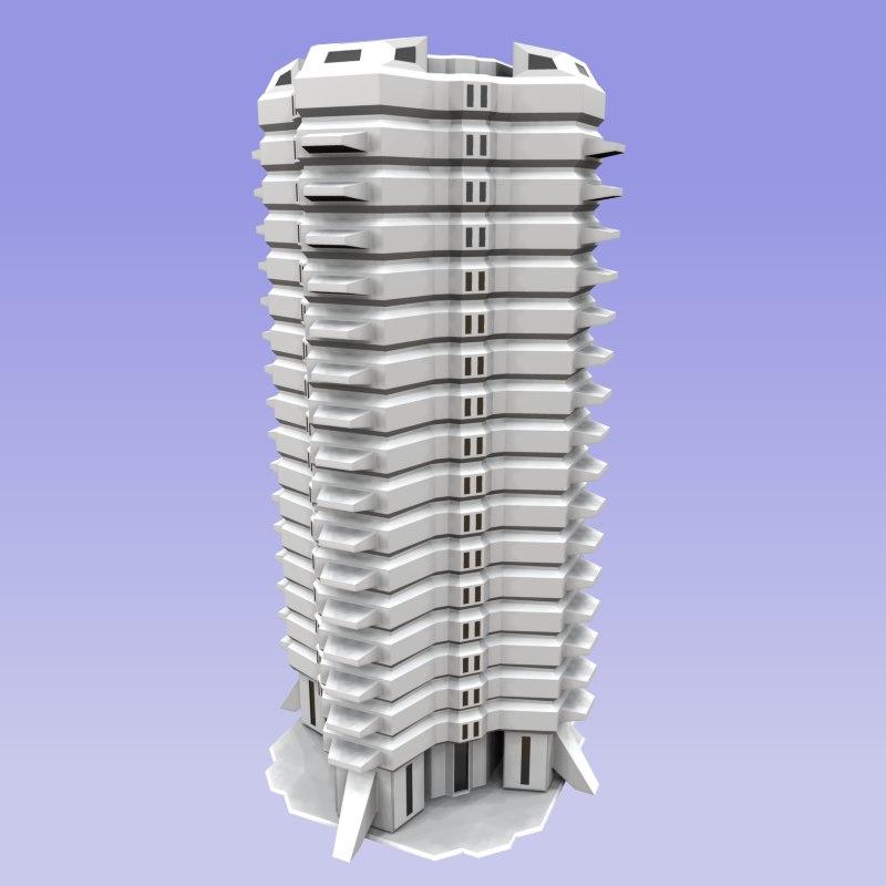 building modern sci-fi 3d max