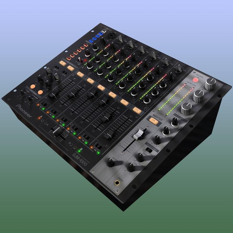 djm-1000 board 3d model