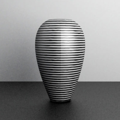 3d 3ds Designer Vase 02