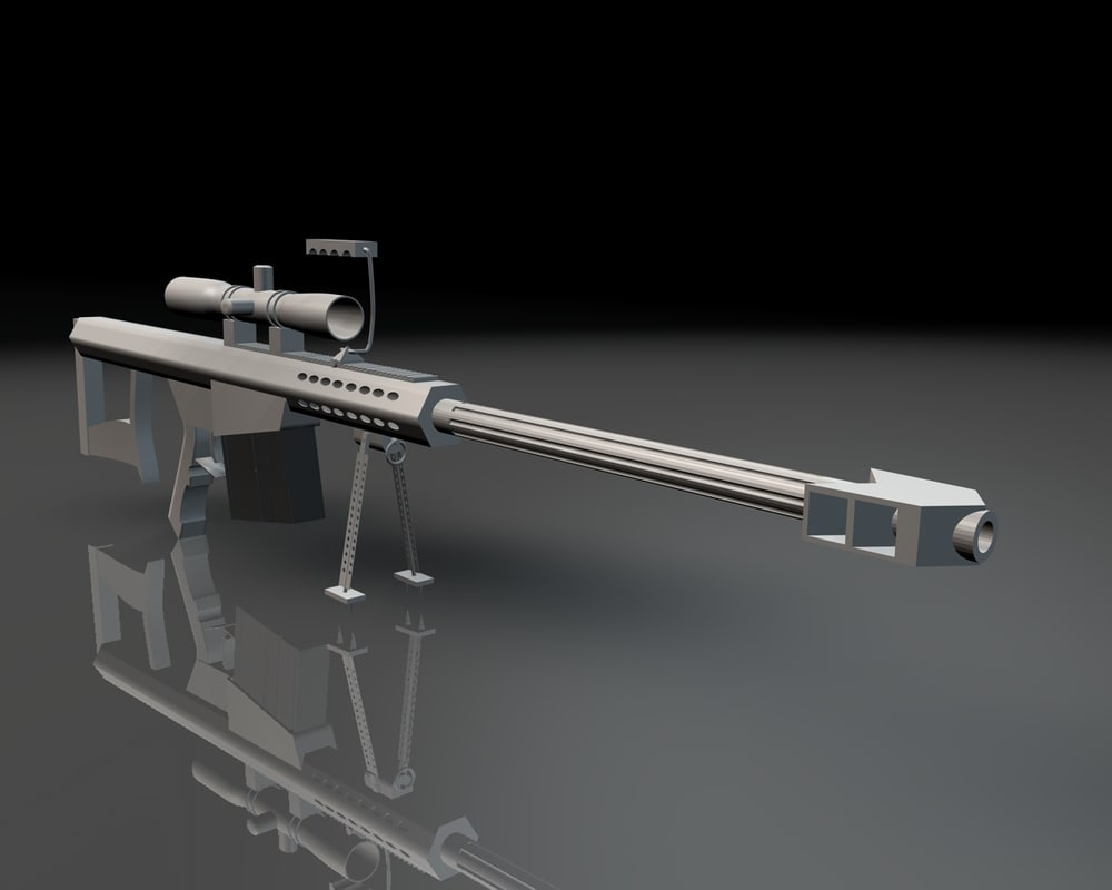 m82 sniper rifle 3d 3ds