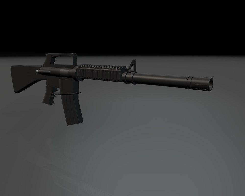 3d m16