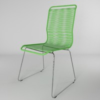 chair verner panton tivoli 3d 3ds