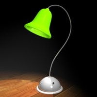 Green desk lamp
