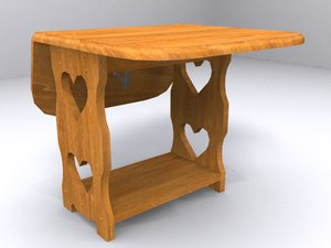 table home 3d model