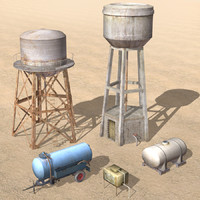 Arab City Water Tank Collection