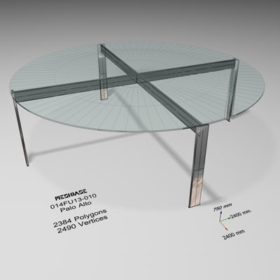 dining table - trash 3d max
