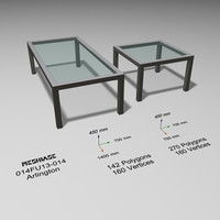 3d tables glass -