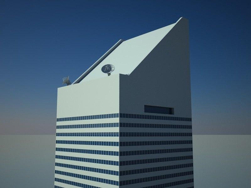 3d model citigroup center skyscrapers buildings