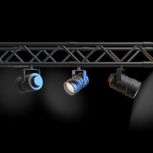 lighting rig 3d model