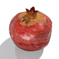 3d pomegranate granate