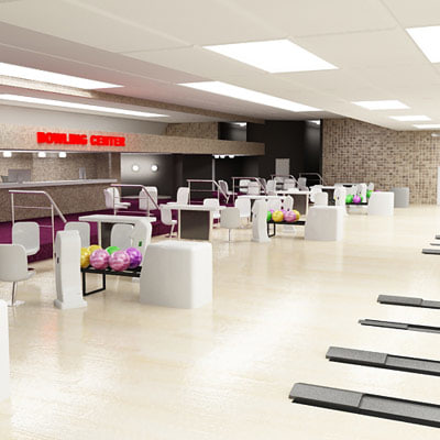 3d model bowling club