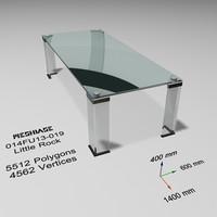 Glass Table 019 - Little Rock