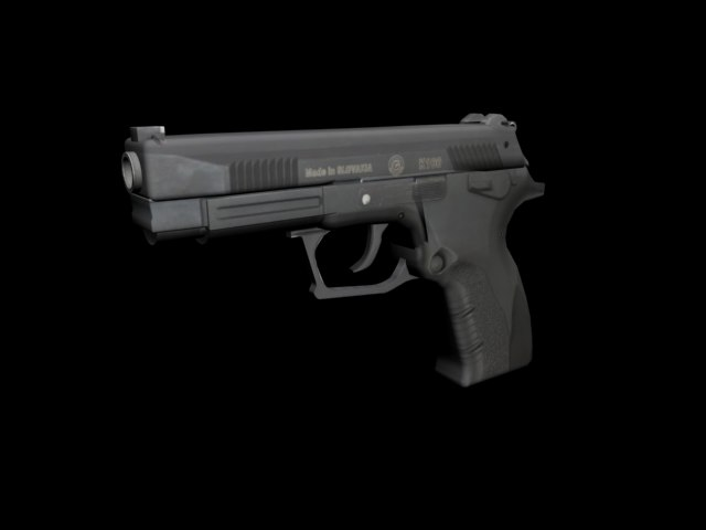 3d k-100 grand power pistol