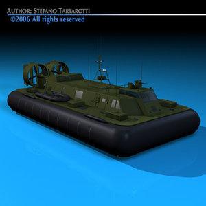 dxf military hovercraft