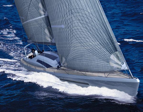 3d sloop 60 model