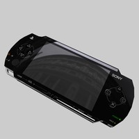 Play station portable.c4d