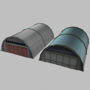 3d airport hangars