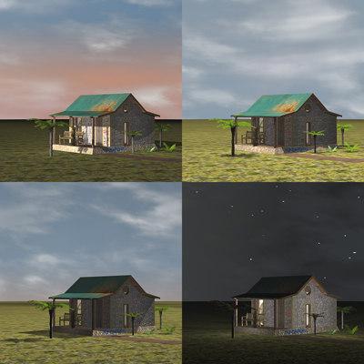 animation simulating daylight max