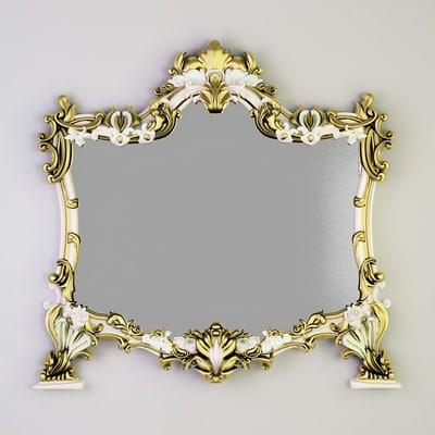 3d mirror deutzia cg01-04 model