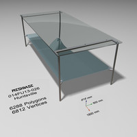 table - trash 3d max