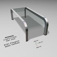Glass Table 029 - San Jose