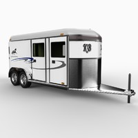 horse trailer 3ds