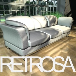 3ds max unique sofa