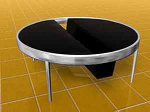 3d model of folder table