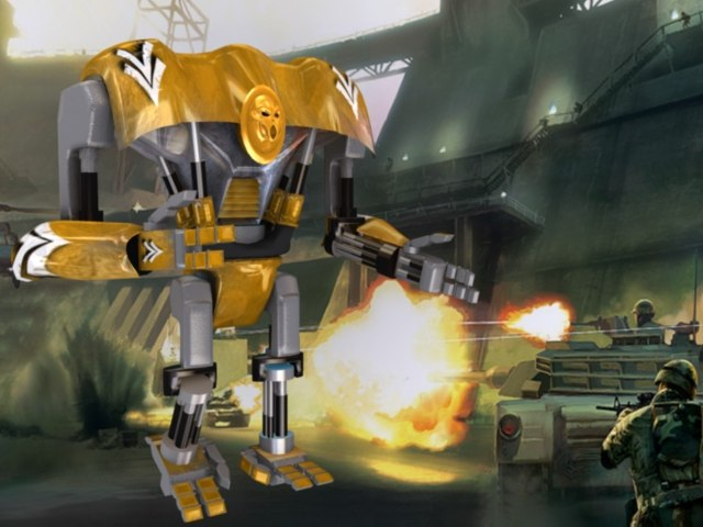 free rrobot 3d model