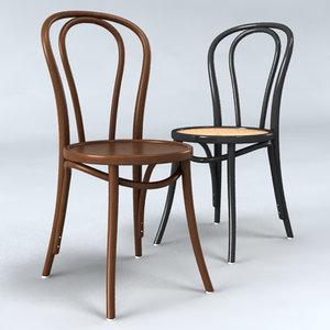 3d chair 18 thonet