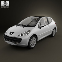 3ds hight peugeot 207