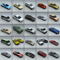 25 - City cars models - max7 gmax 3ds