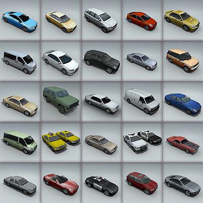 3d 3ds car city