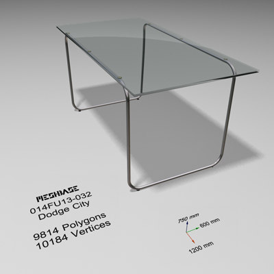 max dining table glass -