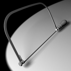 3d model coping saw