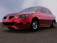 alpha sedan 3d model