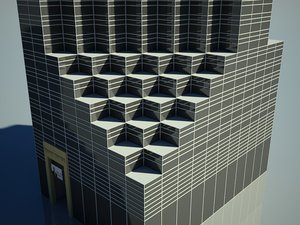 trump tower skyscrapers 3d max