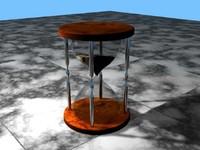 3d model hourglass