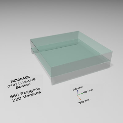 3ds max table glass -