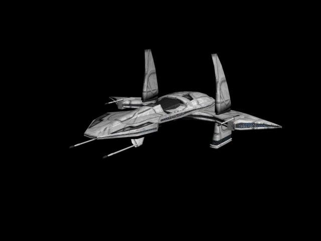 ship stargate 3d model