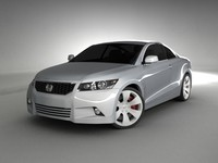 Honda Accord coupe concept 2008