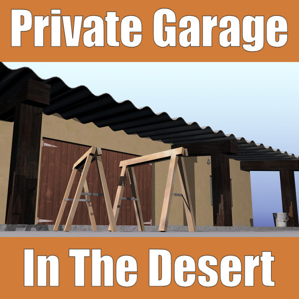 3d private garage desert
