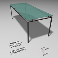 Glass Table 045 - Pittsburgh