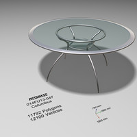 maya dining table glass -