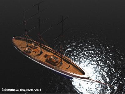 3d ship model